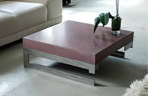 Table basse beton -